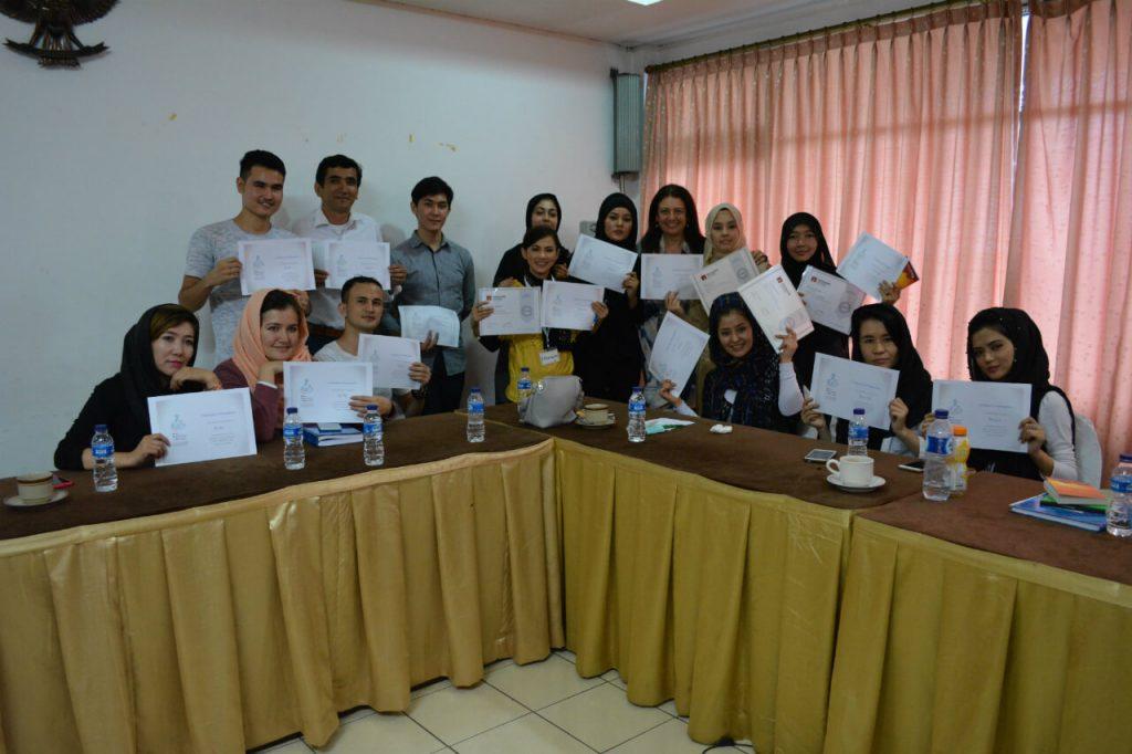 Second teacher training in 2018