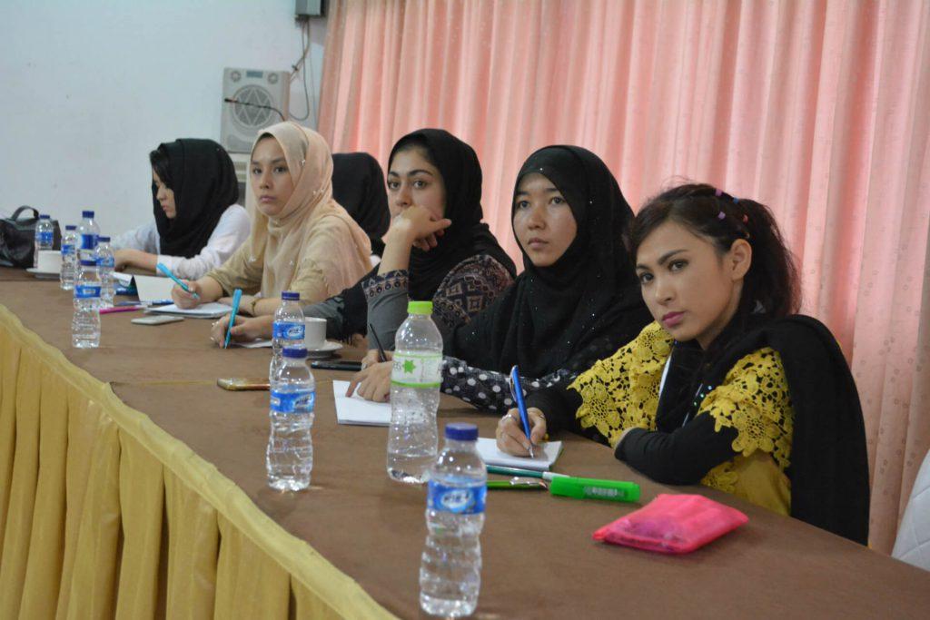 Third teacher training on February 2018