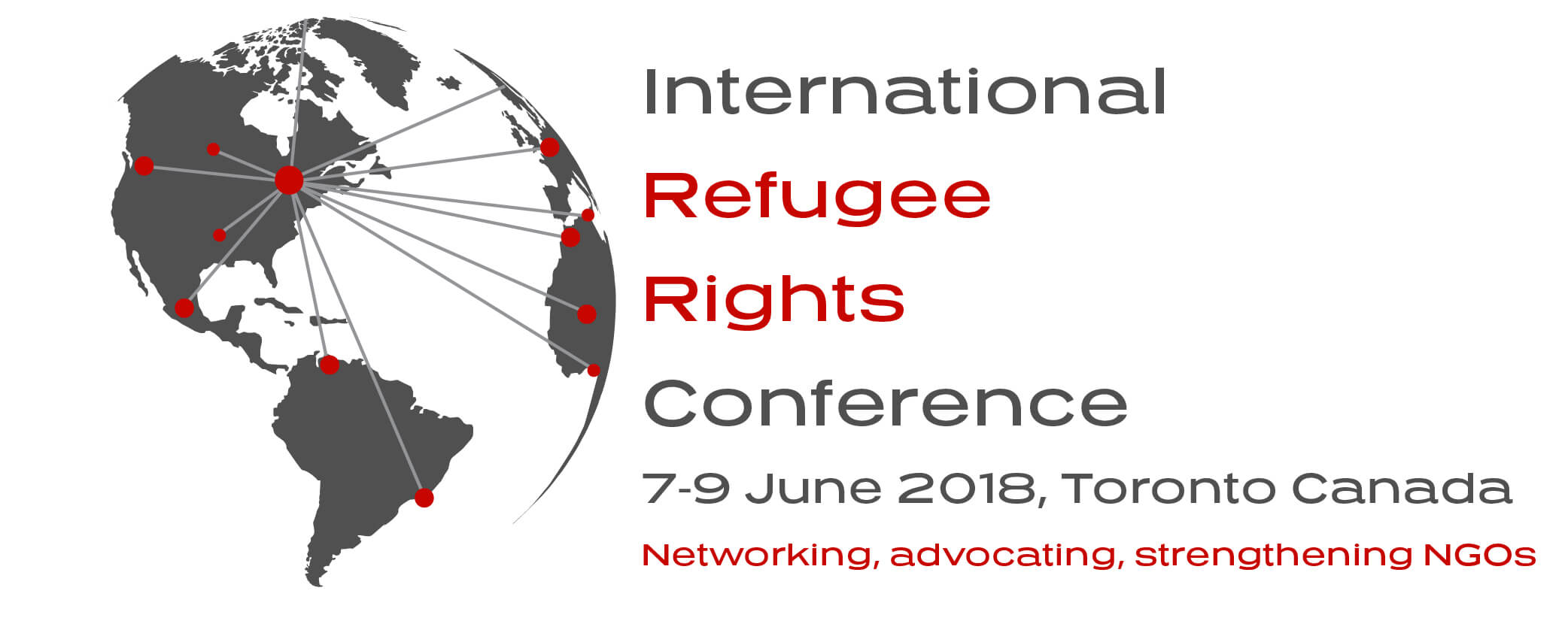 Arash Bordbar was one of the key note speakers at the Canadian Refugee Council Congress, Toronto 6-8 June 2018