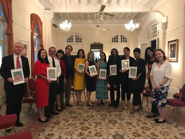 OUR presentation at UK High Commissioner Residence-Eden Hall, Singapore, 13 June 2018